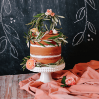 Naked cake : Wedding cake version nude