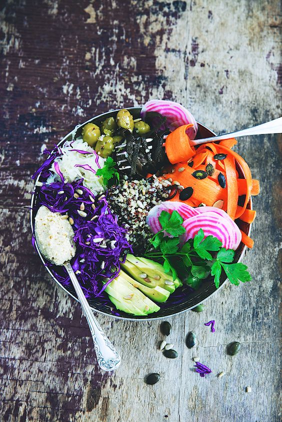 recette buddha bowl healthy food bol vegetarien